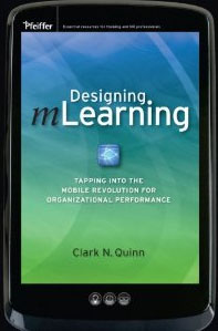 bookcover, Designing mLearning