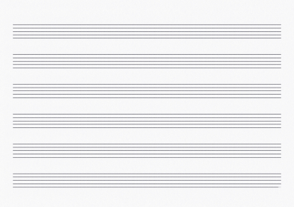 sheet of blank music paper