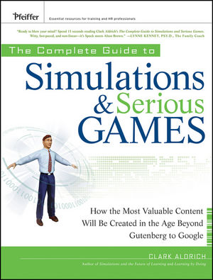 bookcover :simulations and serious games