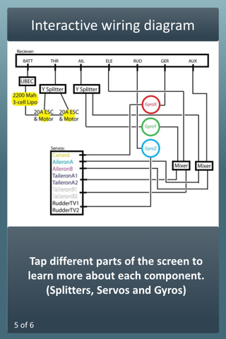 screenshot with title, Interactive Wiring Diagram and technical drawing