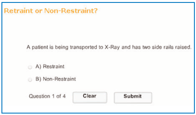 """Figure 5 Categorizing """"what is"""" and """"what isn't"""" a restraint appeals to the ..."""