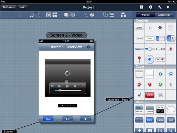 Designing mlearning uis with blueprint learning solutions magazine figure 2 a complete library of ios widgets malvernweather Image collections