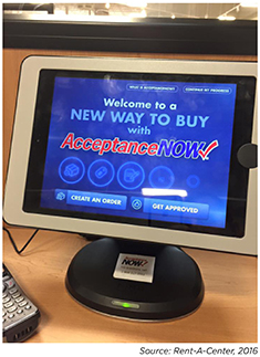 ... Important Value Proposition Within The Evolving RAC Business Model.  Acceptance Now Provides Immediate, On Site, Virtual Application Review And  Approval.