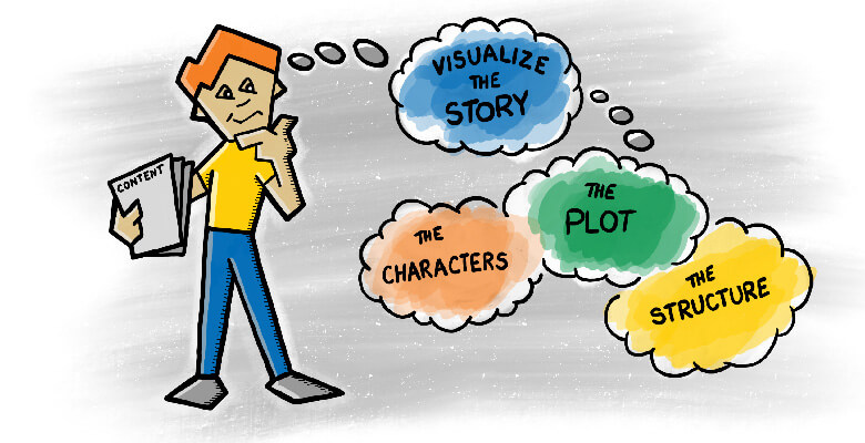 Visualize the Story First When Designing Instructional Comics