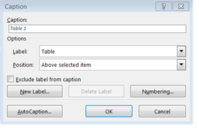 The table caption functions as a title and tells screen-reader users what data the table presents.
